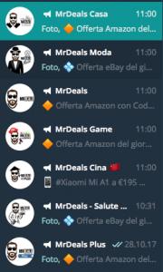 Canali Telegram MrDeals
