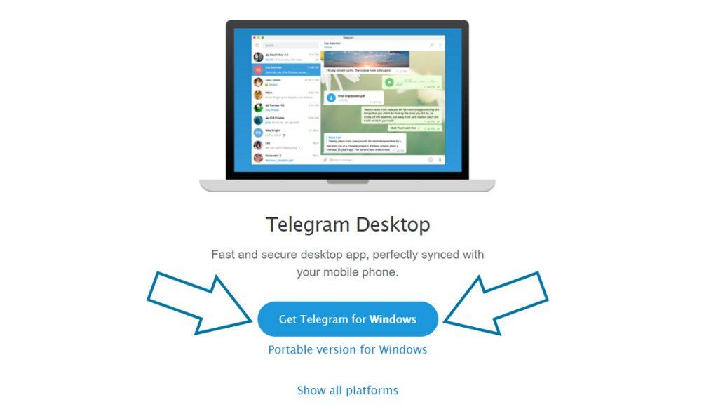 telegram desktop windows