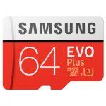 samsung micro sd 64 gb red