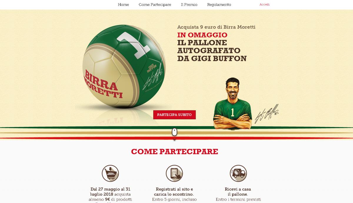 Birra Ichnusa Pallone Omaggio