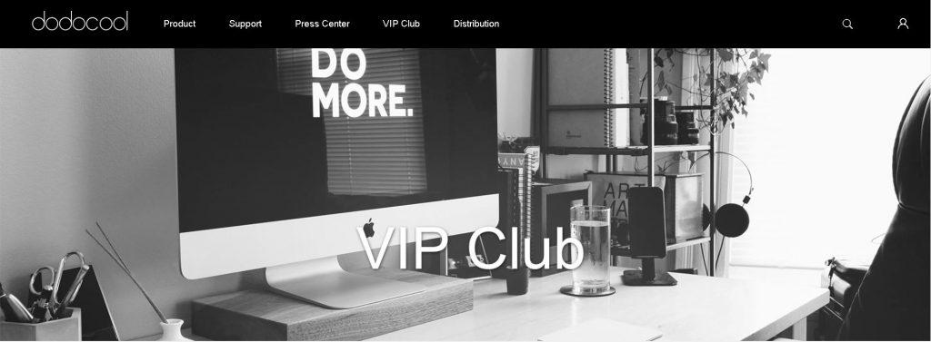 vip club dodocool 1