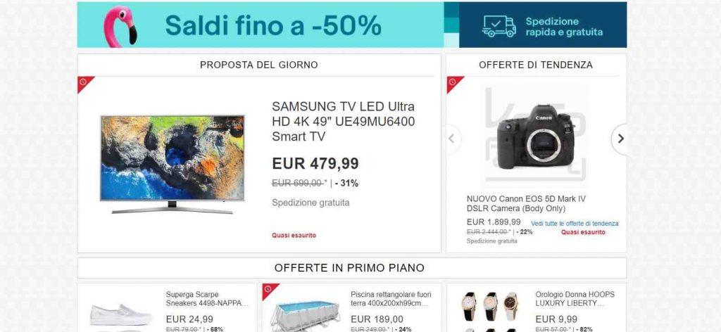 summer sales ebay