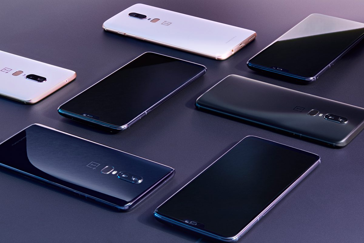 OnePlus 6 colorazioni