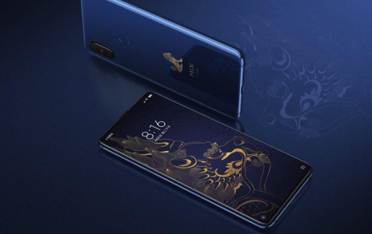 Xiaomi Mi MIX 3 Forbidden Palace Museum Edition