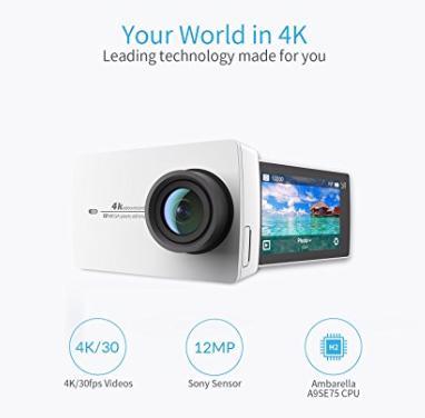 Xiaomi Yi4K Action 2