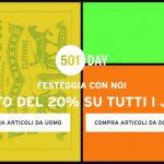 saldi levi's 501 days