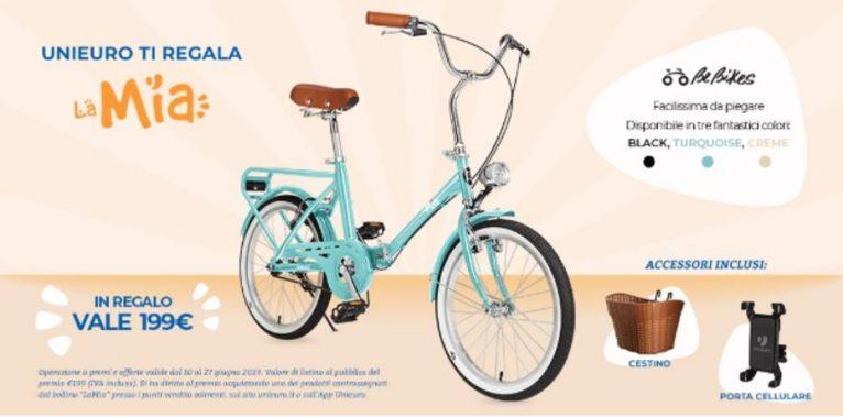 unieuro bici regalo