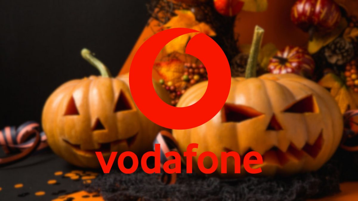 vodafone happy halloween