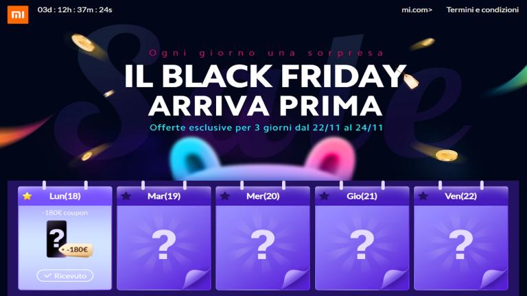 Black Friday biedt Xiaomi Mi Store