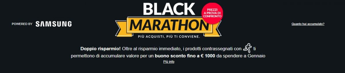 eprice black marathon samsung promozione offerta