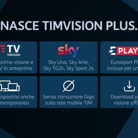 Timvision Plus Netflix
