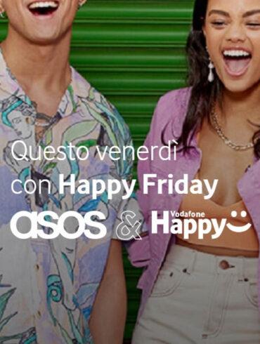 Vodafone Happy Friday Code Promo Asos