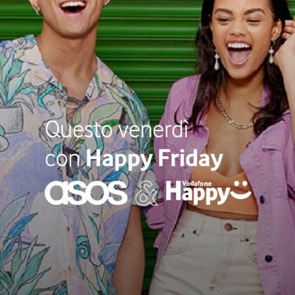 Vodafone Happy Friday asos kortingscode