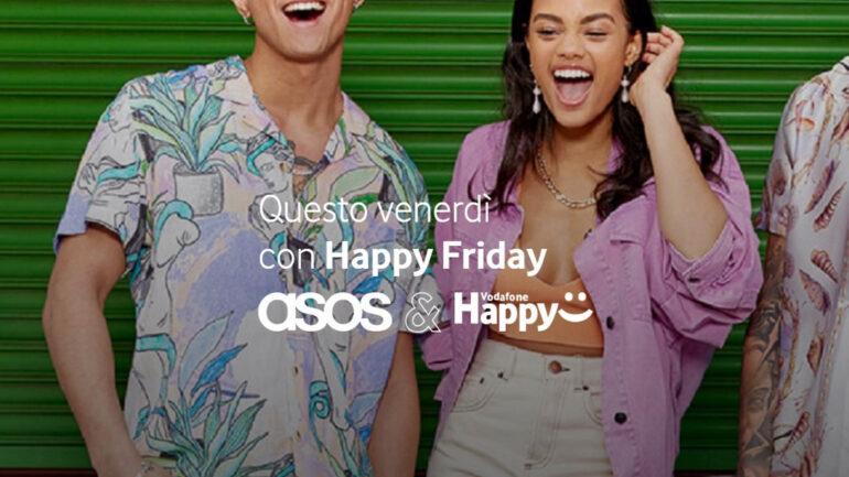 Vodafone Happy Friday codice sconto asos