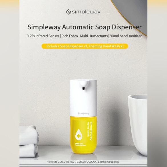 код скидки предложение дозатора мыла xiaomi simpleway