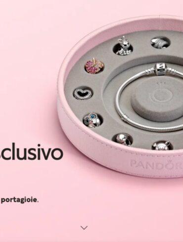 Promo-Pandora-Schmuckschatulle