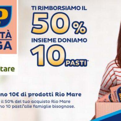 Rio Mare Charity Rückerstattung Rabatt Angebot 2