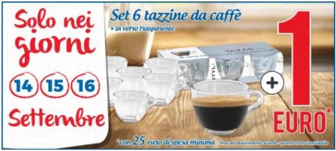 tazzine caffe 1 euro md