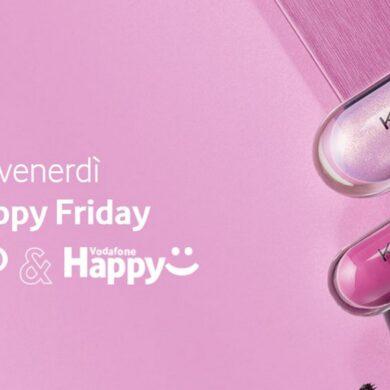 buono sconto kiko vodafone happy friday oggi 23 ottobre