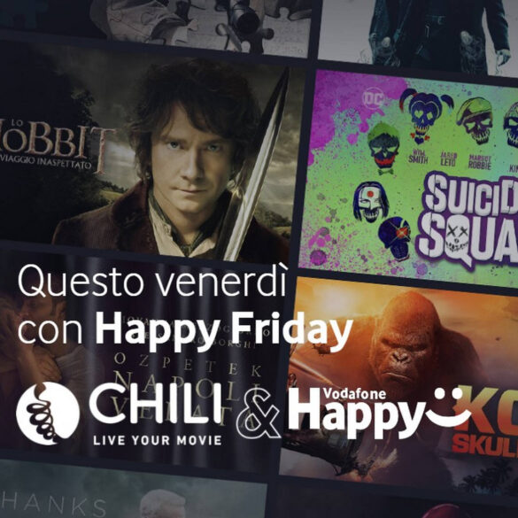 chili kortingscode coupon voucher vodafone happy friday vandaag 2 oktober