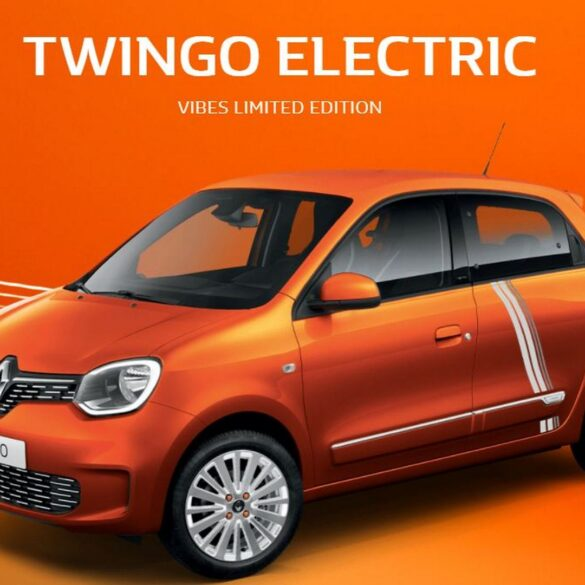 renault twingo electric vogue voucher elektriciteit