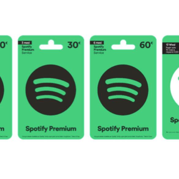 spotify premium gift card
