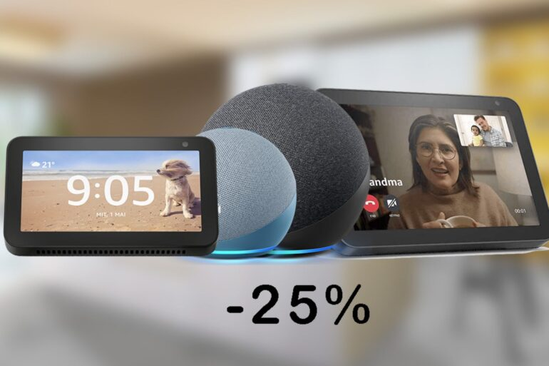amazon echo dot show offerta