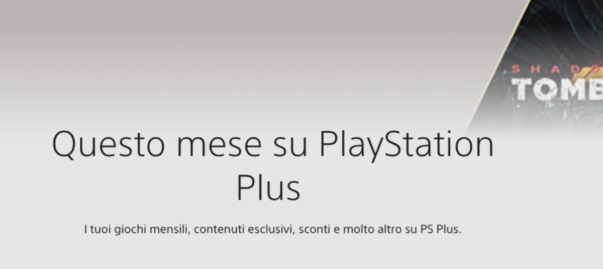 giochi gratis ps plus ps4 ps5