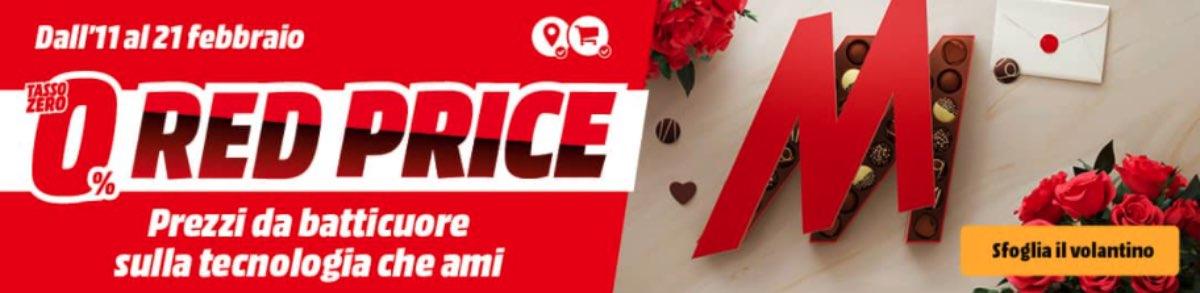 mediaworld volantino red price