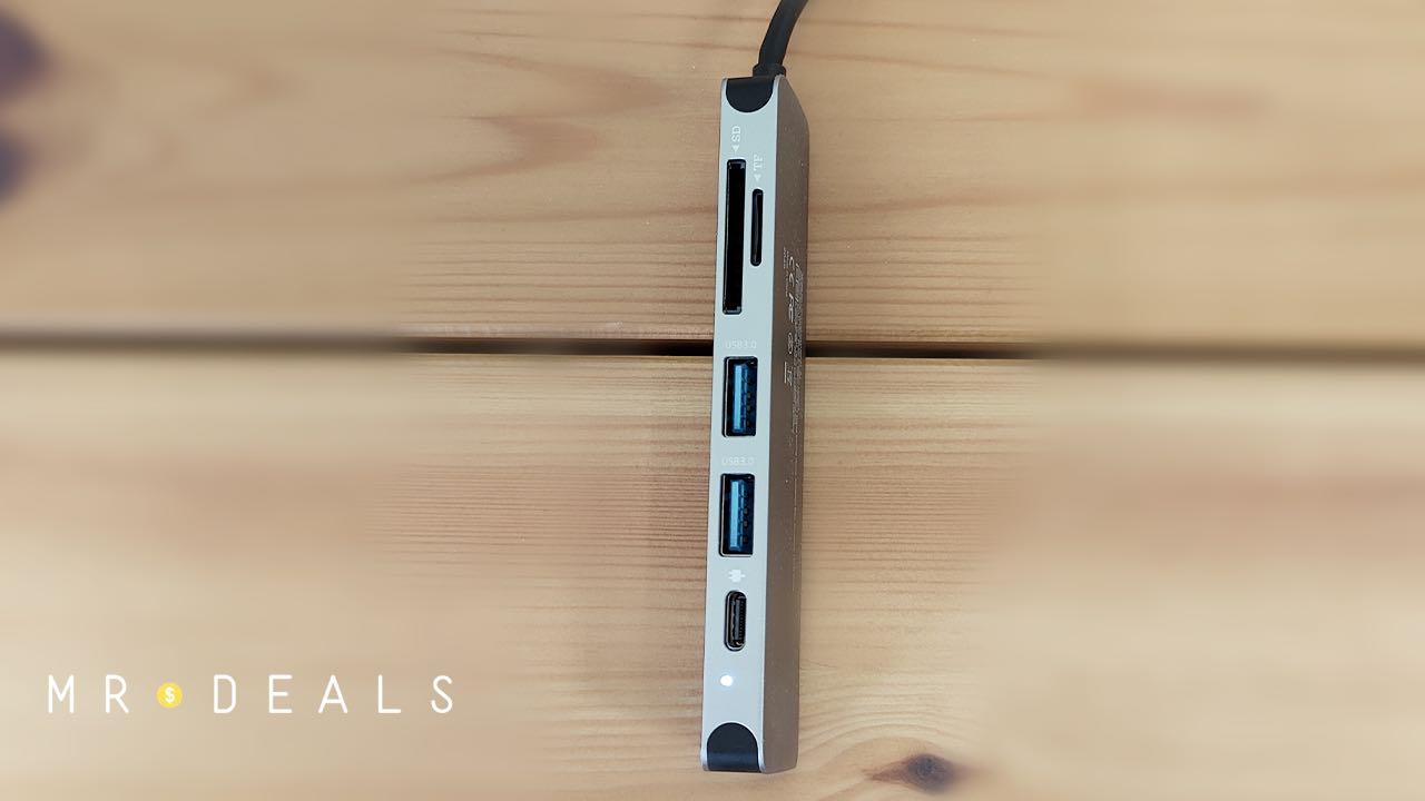 recensione novoo 6 ports hub usb 02
