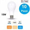 10 Lampadine LED E27