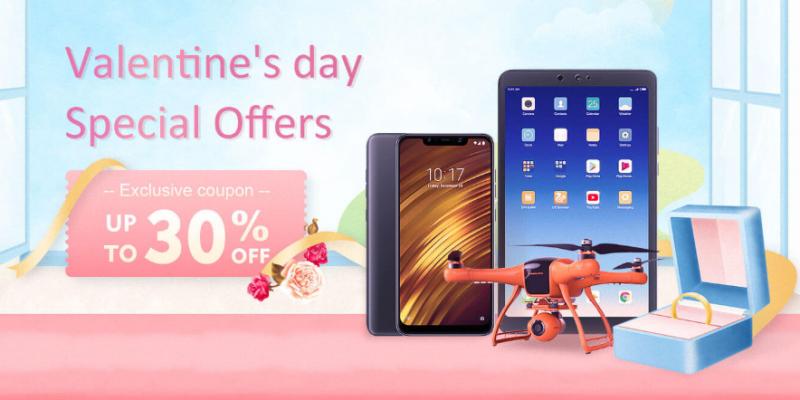 Banggood: scopri tutte le offerte per San Valentino, con sconti fino al 60%