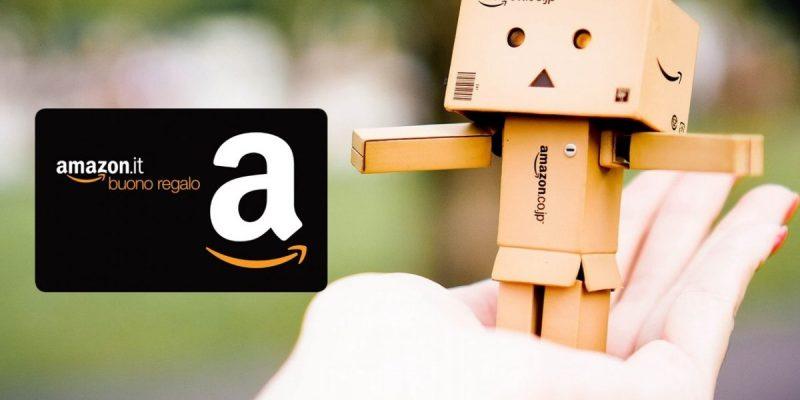 Buono Regalo Amazon: spendi 50 euro e ne ricevi 6 di sconto!