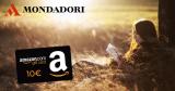 أمازون: 10 € قسيمة خصم عن طريق شراء 25 € على الأقل من كتب Mondadori