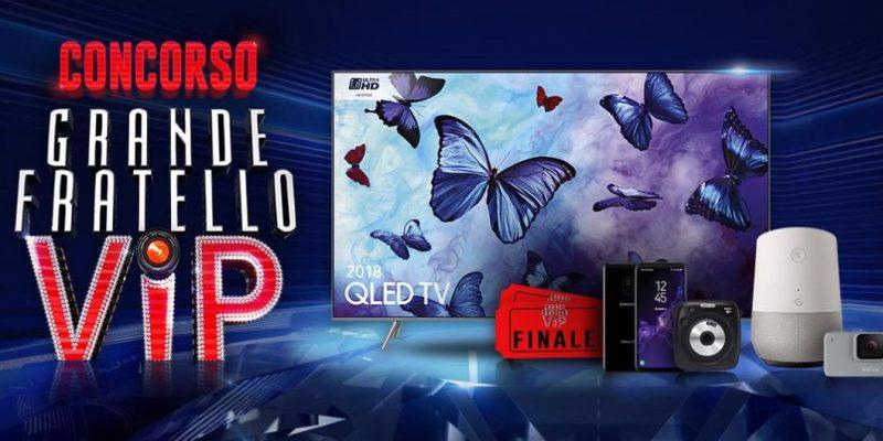 Grande Fratello VIP: come vincere Samsung Galaxy S9, GoPro HERO 7 e tanto altro partecipando al televoto