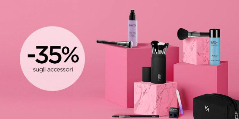 Saldi KIKO: -35% sugli accessori | Esclusiva Online