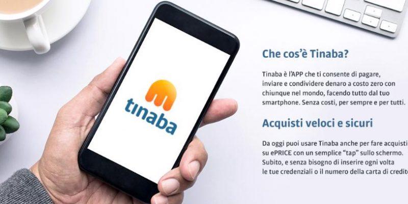 ePrice: subito un buono acquisto di 5€ acquistando da Tinaba