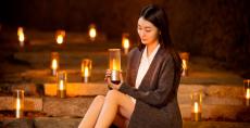 Xiaomi Mijia Yeelight YLFW01YL شمعة