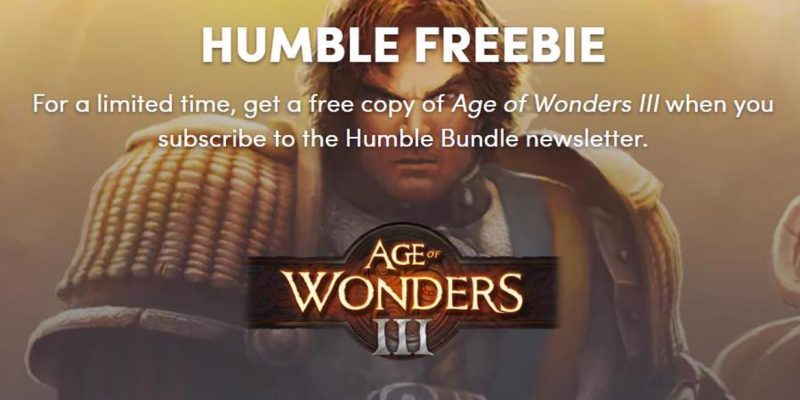 Age of Wonders III da 29.90€ a gratis su Steam | Solo per oggi