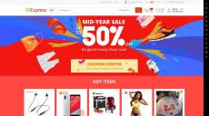 618 Aliexpress Promotion: في منتصف السنة بيع ما يصل إلى 50 ٪ قبالة!