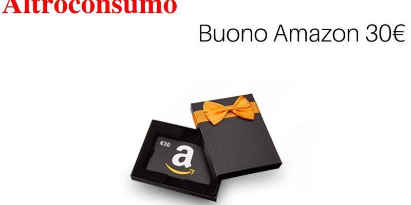 Buono Amazon da 30€ in regalo con Altroconsumo: ecco come fare