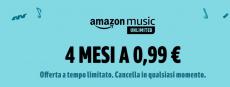 0.99上的Amazon Music Unlimited€:再次提供超级优惠