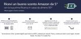Kortingsbon van 5 € met Amazon Top-up bij Checkout