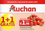 Volantino Auchan: 1 prodotto GRATIS dal 21 al 30 ottobre