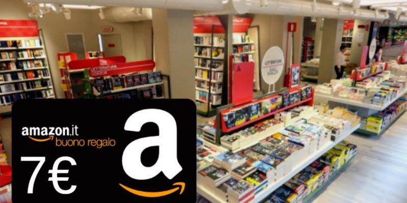 Buono Amazon da 7€ acquistando libri presenti a questa pagina
