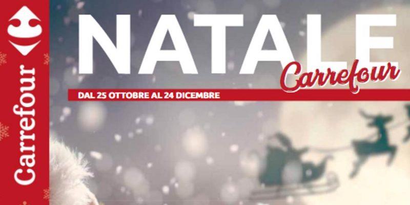 Volantino Carrefour Natale: tutte le offerte dal 25.10 al 24.12