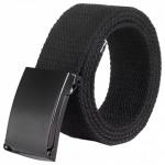 Cintura di Tela Moda Unisex con Fibbia Liscia