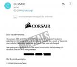 Corsair K70 RGB MK.2 Mechanical a 9.99€: ordini annullati, ma l'azienda regala un coupon agli acquirenti