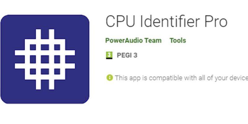 CPU Identifier Pro от 11 € бесплатно: воспользуйтесь подарком в магазине Play