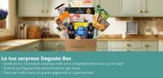 Degusta Box a solo 9.99€ con un prodotto in omaggio grazie al Coupon esclusivo
